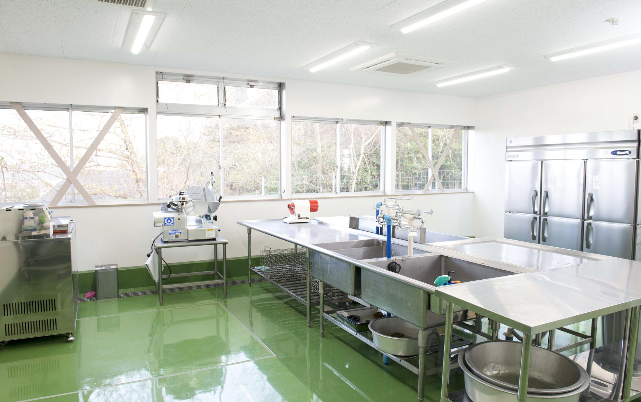 食肉加工処理室